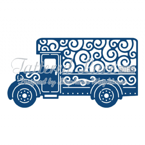 Tattered Lace Die Delivery Van - D851